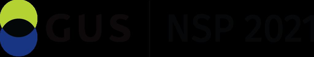 Logo GUS -Narodowy Spis Powszechny Ludności i Mieszkań 2021